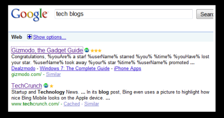 Image of Gizmodo Search Results Subtext